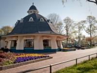 """Restaurant """"Zur Seebrücke"""" Boltenhagen - Pavillon von außen"""